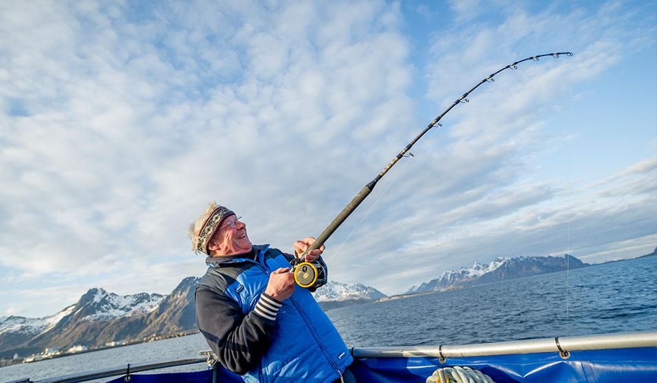 ловля трески Лафонтенскте острова