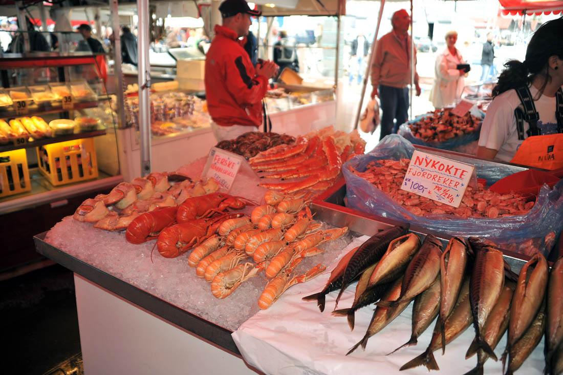 Рынок в Бергене