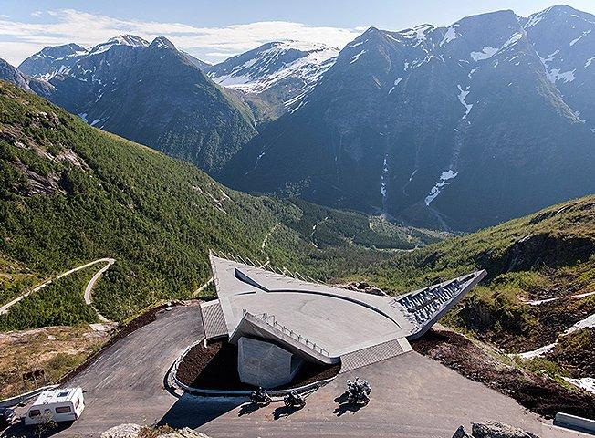 Норвежцы стремятся сделать места для пикников еще более благоустроенными