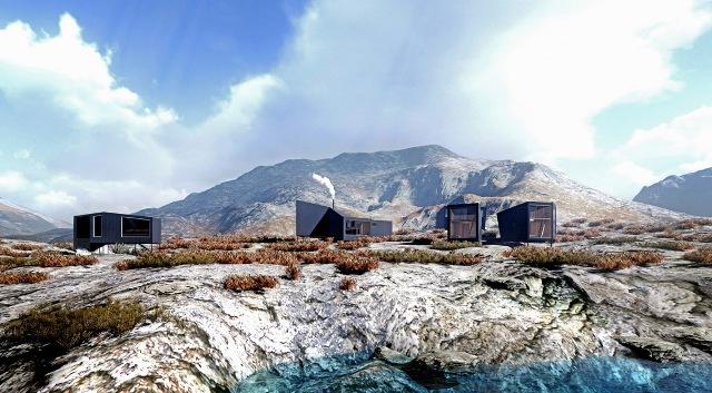 В Норвегии начал принимать гостей уникальный отель в горах
