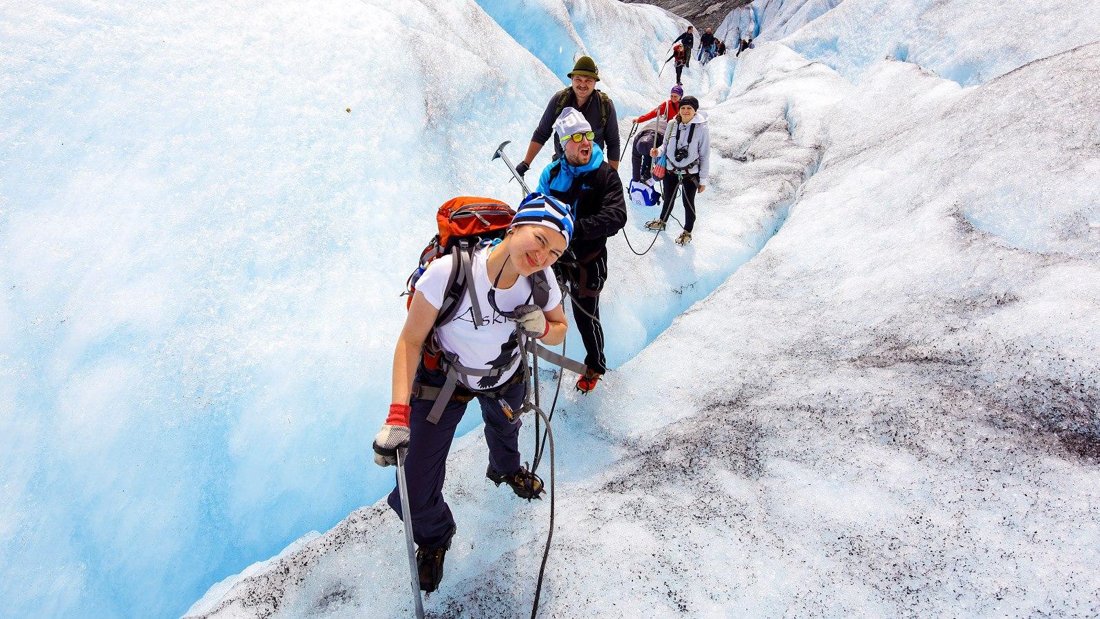 Ледниковая тропа Йостедалсбреена