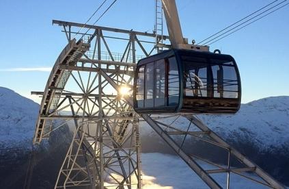 В Норвегии появится «Лифт в небо»