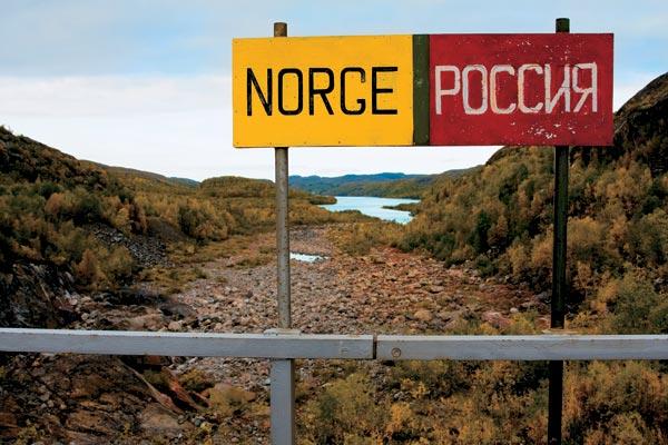 Упрощен порядок пересечения границы Норвегии