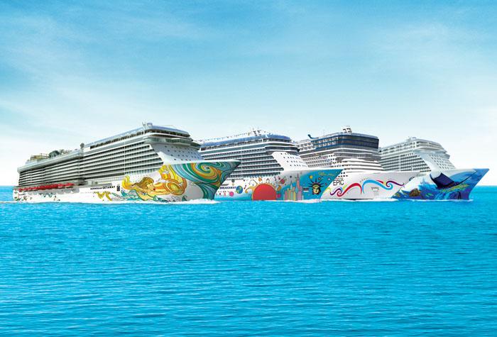 Norwegian Cruise Line будет продавать места в каютах на аукционах