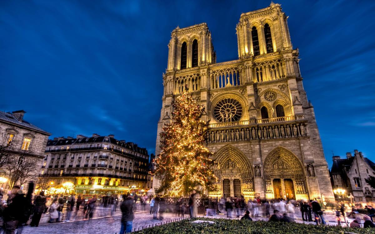 Новый год и Рождество во Франции